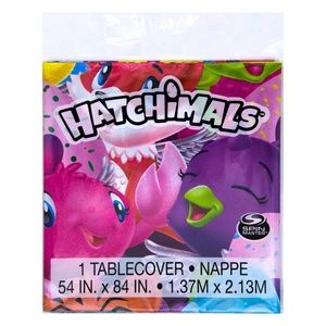 Hatchimals Plastic Birthday Party Tablecover